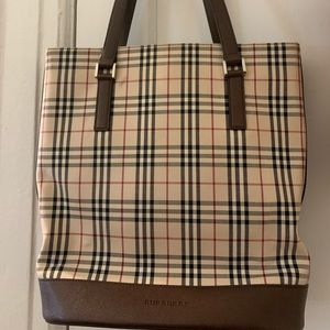 Authentic vintage Burberry totes